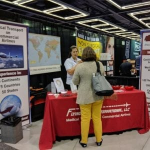 Flying Nurses ACMA Booth
