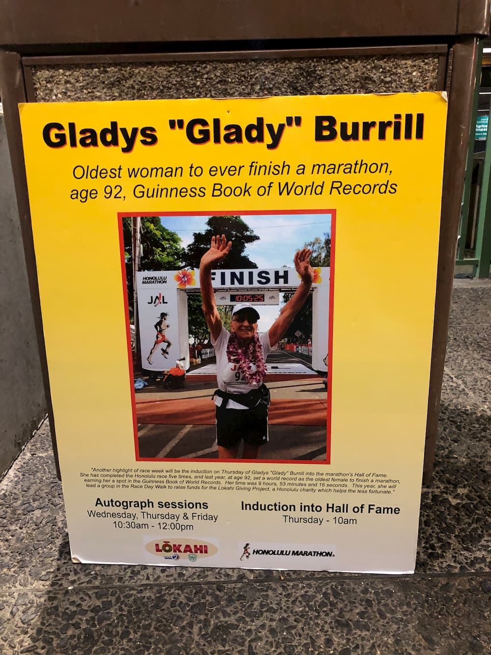 Athlete Gladys Burrill